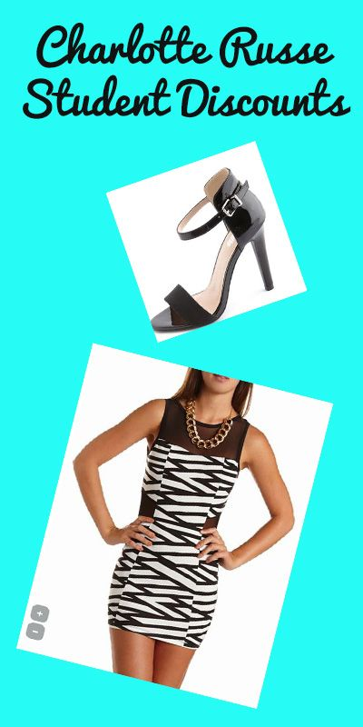 Get student discounts at Charlotte Russe! (the promo code works even on top of sales!)