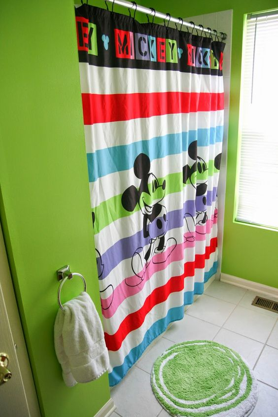 Mickey Mouse Bathroom Oh So Crafty Pinterest Colors Mice And Mickey M