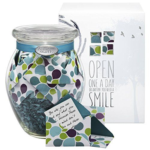 Cookie Jar: KindNotes INSPIRATIONAL Keepsake Gift Jar of Messages for Him or Her Birthday Thank you Anniversary Just Because  Colorful Splash *** Want additional info? Click on the image. http://www.amazon.com/gp/product/B0088397L4/?tag=easyrecipes078-20&phi=200916022317