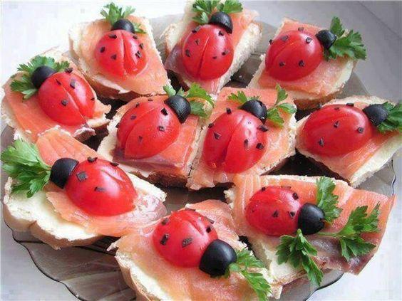 #ladybug #food #yum
