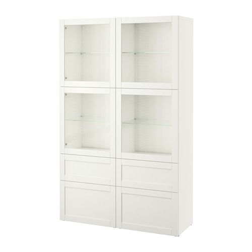 Vitrine Ikea Besta ~ BESTÅ Storage combination wglass doors IKEA The drawer and doors