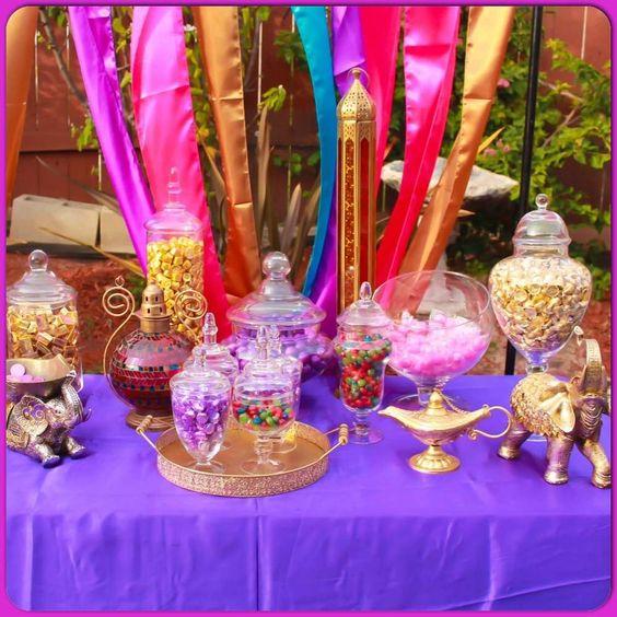 Arabian aladdin theme birthday party ideas birthdays for Arabian decoration party