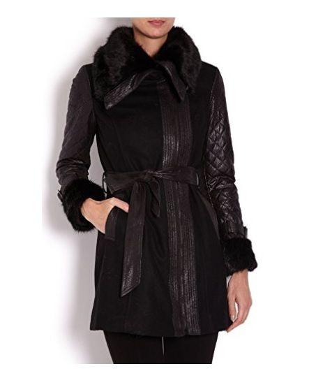 Abrigo negro entallado #Amazon #Abrigosmujer #Modaotoño/invierno #Outfits #Moda #Mujer #Abrigos #Parkas #Stile