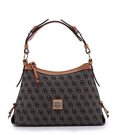 Dooney and Bourke Signature Hobo Bag #Dillards 168.00 | Mom ...