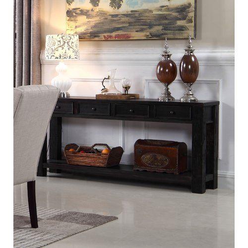 Jantzen Console Table Best Master Furniture Black Sofa Table