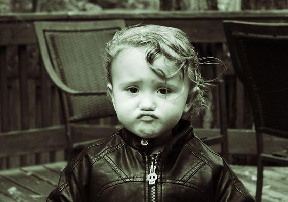 Boy in Leather Jacket
