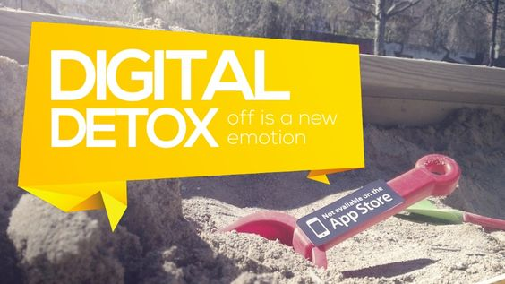 Digital Detox: Off Is A New Emotion by Alex Drozdovsky via slideshare