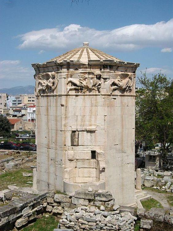 Torre de los Vientos, Atenas, Grecia