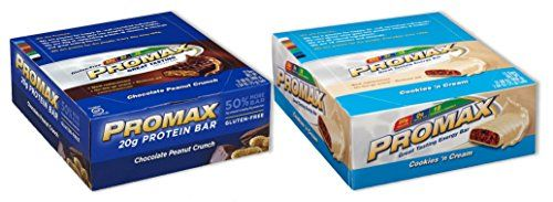 Promax Protein Barchoc Peanut Crunchcookies Cream12 Of Ea 24 Bars Total Read More At The Image Link This Is An Affiliate Nutrition Bars Nutrition Protein