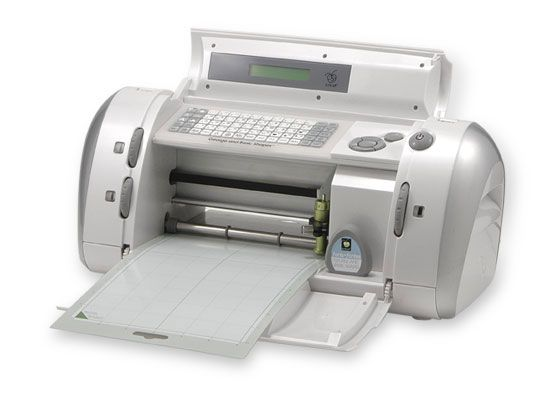 Cricut is a great little die cut machine that is versatile for all sorts of projects.