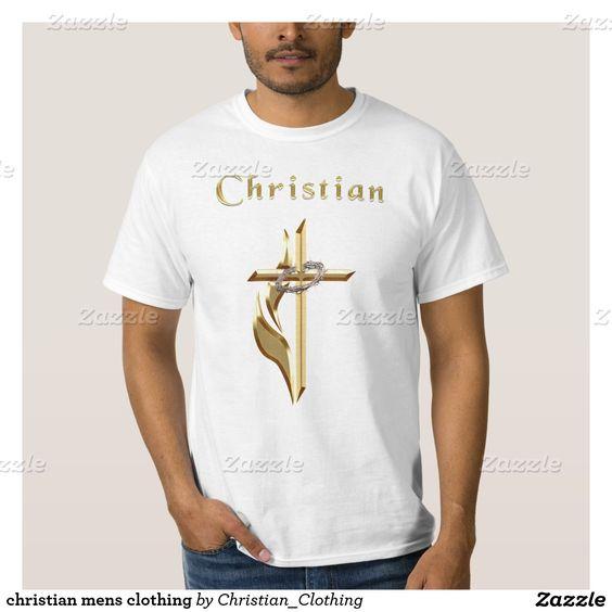 christian mens clothing shirt