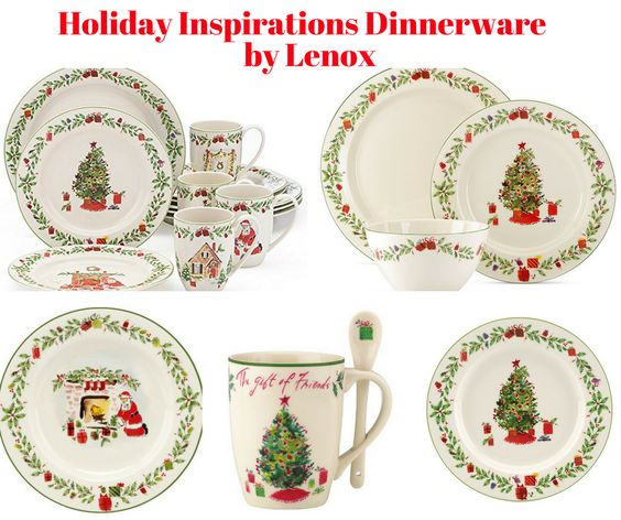 Holiday Inspirations Dinnerware Collection by Lenox