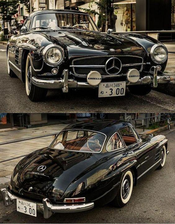 bike &girls-; easy life — 1953s:   Mercedes