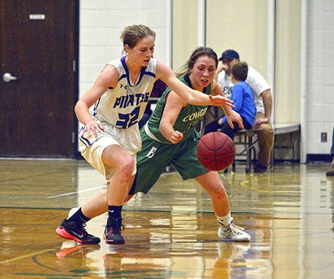 Pirates hang on for 49-48 win in Breck