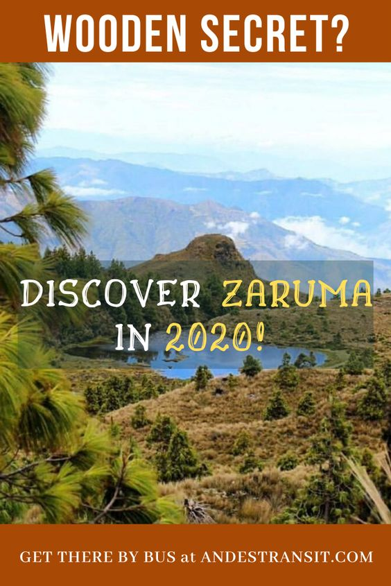 Exploring Zaruma in Ecuador by bus with AndesTransit (Pinterest)