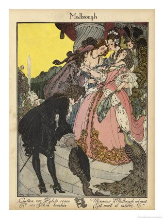 Marlbourgh by Gerda Wegener (Danish 1886-1940)