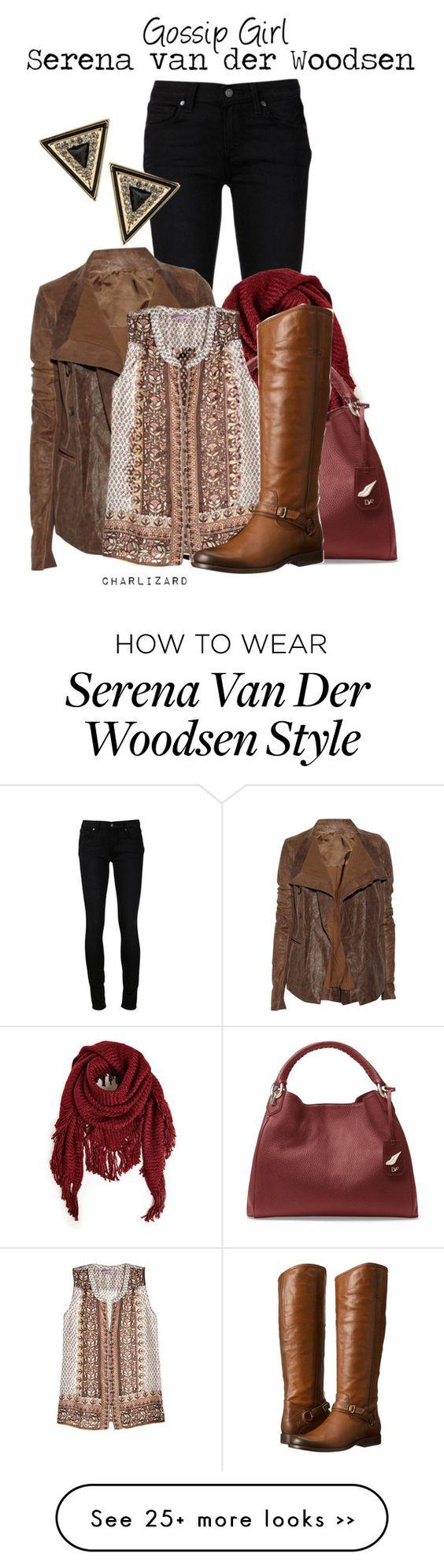 """""""Serena van der Woodsen"""" by charlizard on Polyvore"""