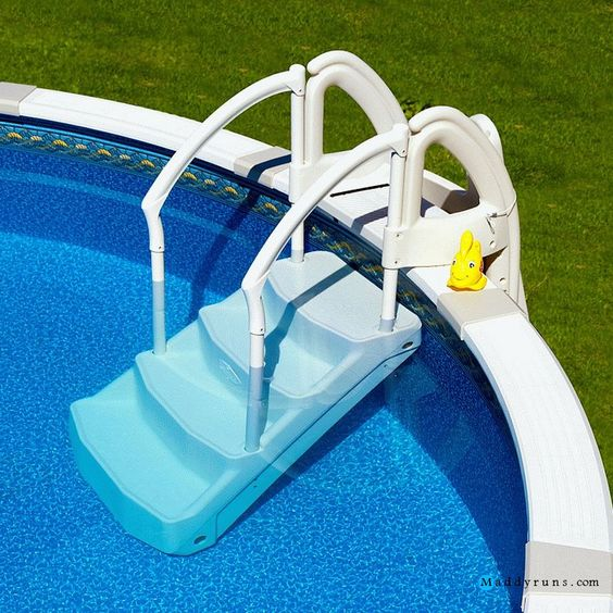 Pool Ladder Above Ground Swimming Pools And Swimming