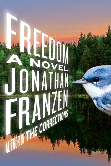 This is the cover of the book Freedom by Jonathan Franzen.