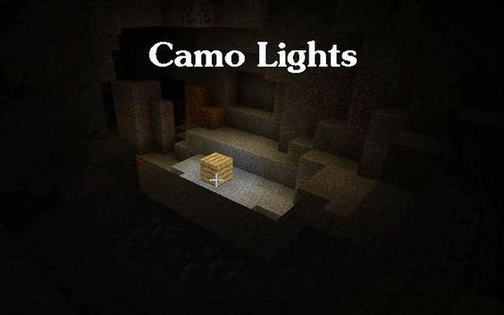 Minecraft mods Camo Lights 1.6.4 | Download Free Minecraf Mod