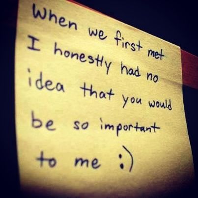 Love this quote/saying! <3
