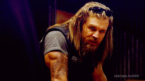 I know Jax is almost everybody's fave but Opie is my fave. Sexy beast!!!