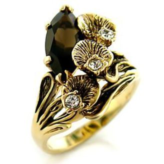 Lovely Smoky Topaz Nature Inspired Ladies Ring!: http://www.outbid.com/auctions/9415-rings-rings-rings#1