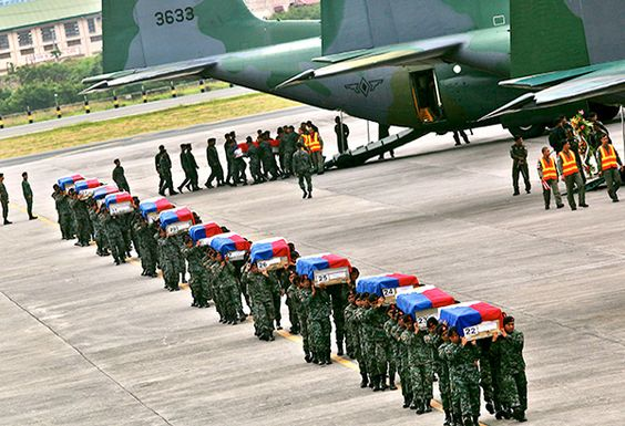 The bodies of the Fallen 44.