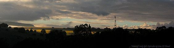 What?? It's morning again?  Didn't that happen just yesterday?   Morning Light September 19 2014 Lif Strand