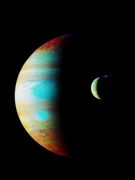 Jupiter - I just learned that when NASA sent a space probe ...