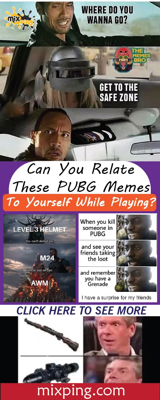 Can You Relate These Pubg Memes To Yourself While Playing Laughing Therapy Memes Humor