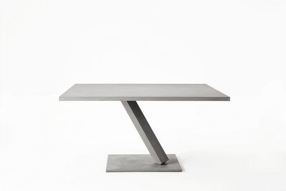 ELEMENT Table carrée by Desalto design Tokujin Yoshioka Design