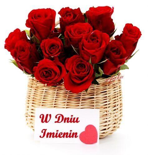 Kartka Pod Tytulem Imieninowe Rozyczki I Najlepsze Zyczenia Dlaciebie Flowers Rose Beautiful Flowers