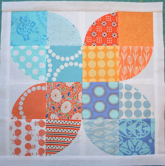 5 x 4 Modern Bee - for Kathleen - Hive 12 by shecanquilt, via Flickr