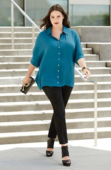 Plus Size How To Wear Leggings
