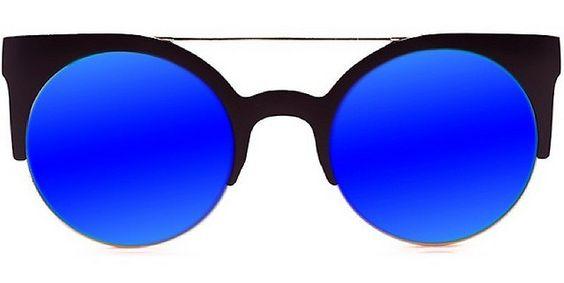 gafas de sol masculinas en tonos azules