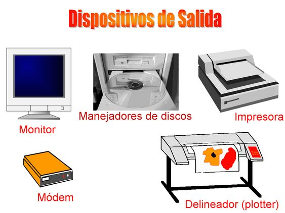 Resultado de imagen de dispositivos desalida