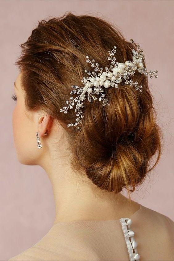Lindos peinados de novias | Moda peinados... - Somos Novias