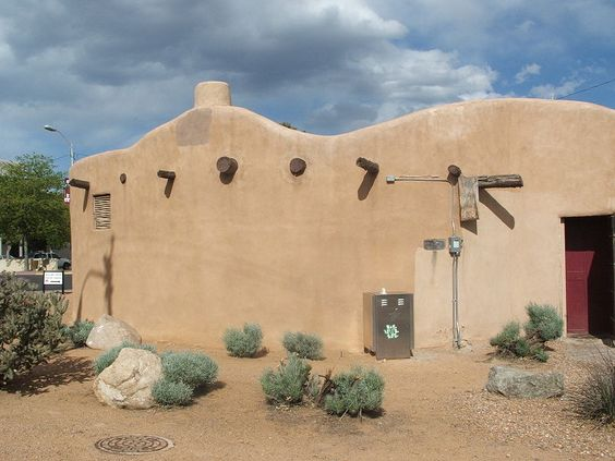 Pueblo Revival Architecture. The flat roofs and earth-toned walls of the pueblo style were inspired by the simple structures of the Pueblo Indians.