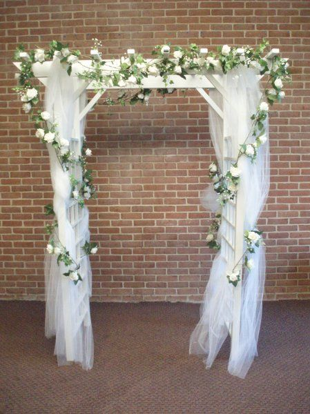 Indoor wedding arch decorations all includive wedding for Arch wedding decoration ideas