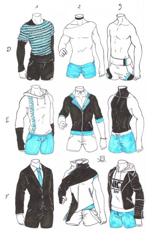 Male Clothes And Body Drawing Clothes Art Sketches Character Design