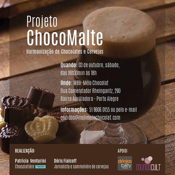 1ª edição do projeto ChocoMaltte em Porto Alegre