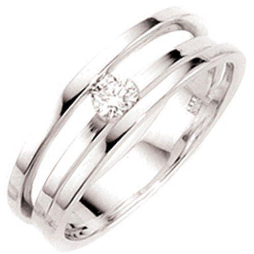 Dreambase Damen-Ring 1 Diamant-Brillant 14 Karat (585) Weißgold 0.18 ct. 56 (17.8) von Dreambase, http://www.amazon.de/dp/B00AEEE256/ref=cm_sw_r_pi_dp_N4W-qb0T05S40