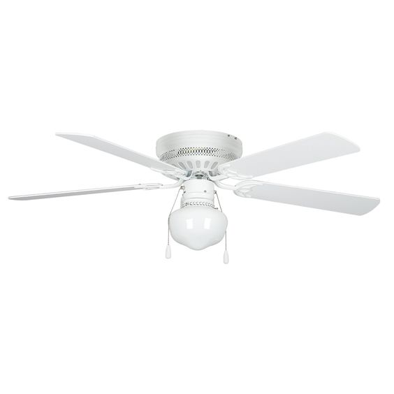 Concord Fans 42HUG4WH-YG6 Commercial Select Hugger Ceiling Fan