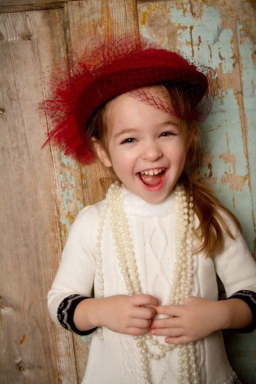 """""""Hat Fun"""" by Portrait Creations photography studio located in Charlotte, NC."""