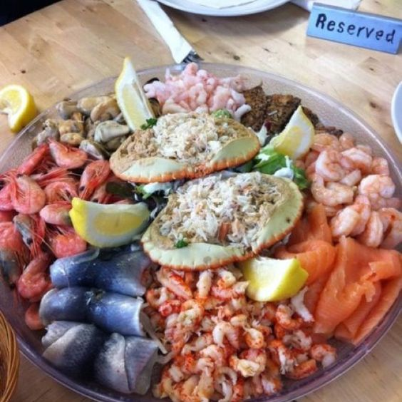 Seafood platter to make your mouth water fish is the for Christmas fish starters