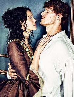 Caitriona Balfe and Sam Heughan for Entertainment Weekly March 2016