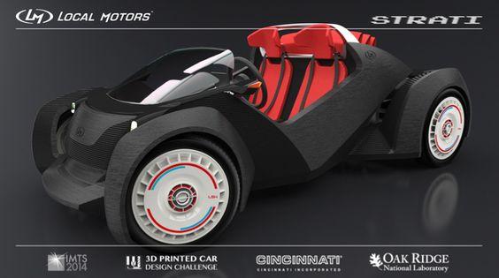 www.2rmin.com - LM - 3D Printed Car — 2rmin's Finest Selection Of Cool Stuff