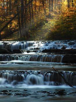 Cinderella Falls, Blount Springs, Alabama