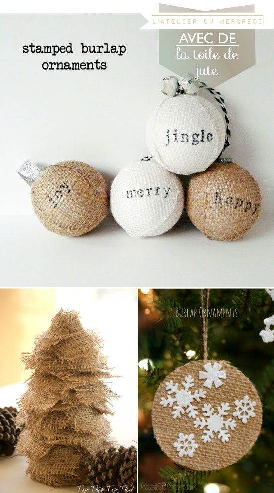 DIY Burlap Crafts Pinterest